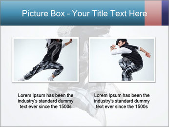 Modern Dance Training PowerPoint Templates - Slide 18