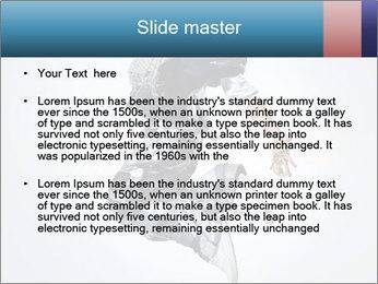 Modern Dance Training PowerPoint Templates - Slide 2