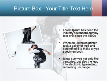 Modern Dance Training PowerPoint Templates - Slide 20