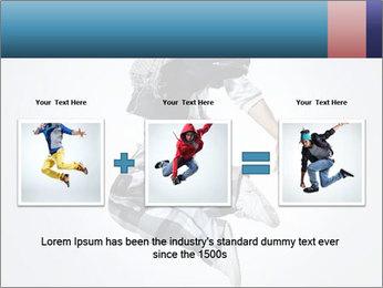 Modern Dance Training PowerPoint Templates - Slide 22