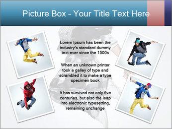 Modern Dance Training PowerPoint Templates - Slide 24