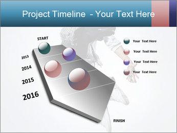 Modern Dance Training PowerPoint Templates - Slide 26
