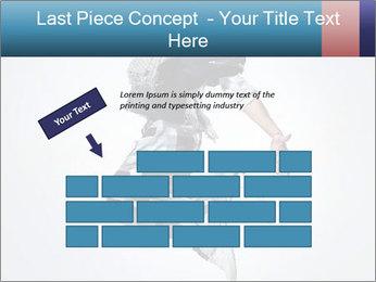 Modern Dance Training PowerPoint Templates - Slide 46