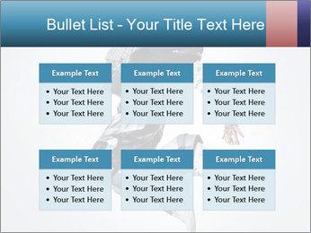 Modern Dance Training PowerPoint Templates - Slide 56