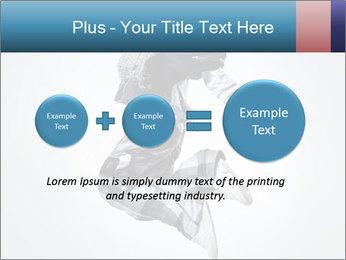 Modern Dance Training PowerPoint Templates - Slide 75