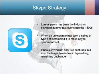 Modern Dance Training PowerPoint Templates - Slide 8