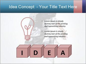 Modern Dance Training PowerPoint Templates - Slide 80