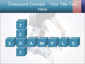 Modern Dance Training PowerPoint Templates - Slide 82