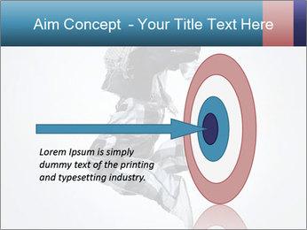 Modern Dance Training PowerPoint Templates - Slide 83
