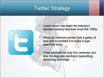 Modern Dance Training PowerPoint Templates - Slide 9