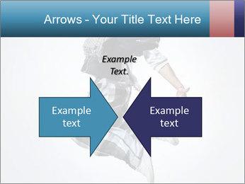 Modern Dance Training PowerPoint Templates - Slide 90