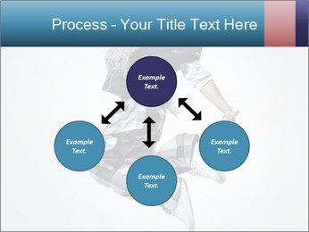 Modern Dance Training PowerPoint Templates - Slide 91
