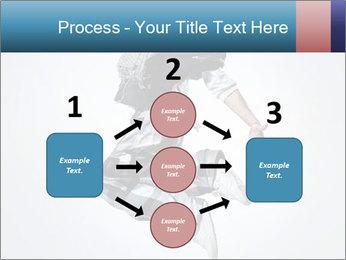 Modern Dance Training PowerPoint Templates - Slide 92