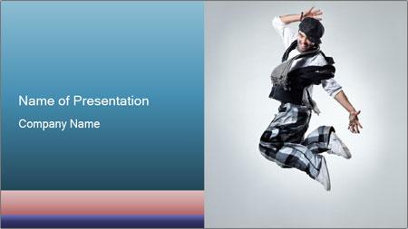 Modern Dance Training PowerPoint Template