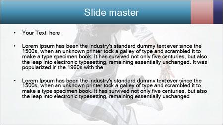 Modern Dance Training PowerPoint Template - Slide 2
