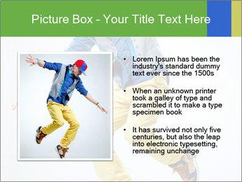 Self-Taught Dancer PowerPoint Templates - Slide 13