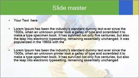 Self-Taught Dancer PowerPoint Template - Slide 2