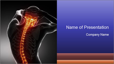 Spinal Scan PowerPoint Template