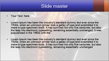 Spinal Scan PowerPoint Template - Slide 2
