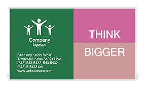 0000063301 Business Card Template