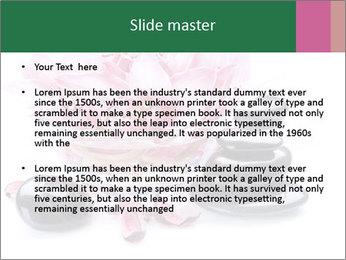 Lotus in Glass Jar PowerPoint Template - Slide 2