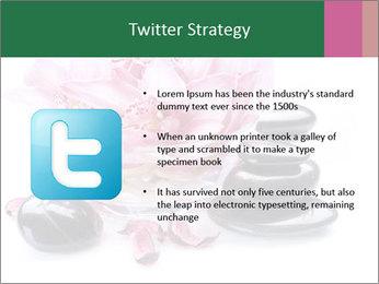 Lotus in Glass Jar PowerPoint Template - Slide 9
