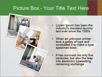 Woman Worker PowerPoint Template - Slide 17