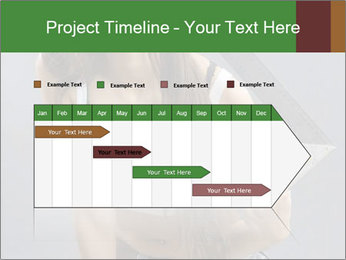 Woman Worker PowerPoint Template - Slide 25