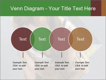 Woman Worker PowerPoint Template - Slide 32