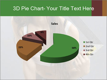 Woman Worker PowerPoint Templates - Slide 35
