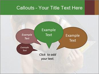 Woman Worker PowerPoint Template - Slide 73