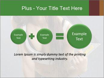 Woman Worker PowerPoint Template - Slide 75