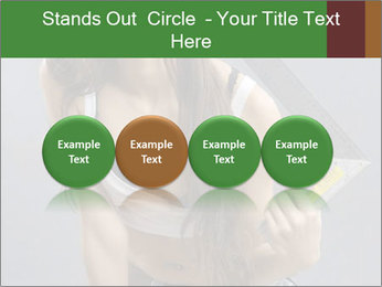 Woman Worker PowerPoint Template - Slide 76