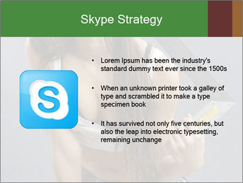 Woman Worker PowerPoint Template - Slide 8