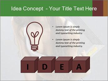 Woman Worker PowerPoint Templates - Slide 80