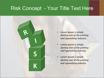 Woman Worker PowerPoint Template - Slide 81