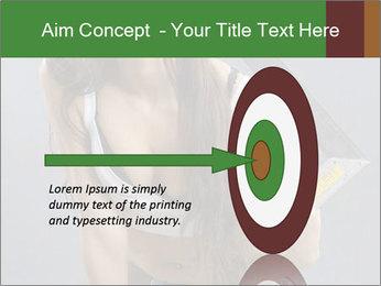 Woman Worker PowerPoint Template - Slide 83