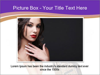Woman with Travel Bag PowerPoint Template - Slide 15