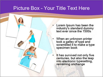 Woman with Travel Bag PowerPoint Templates - Slide 17