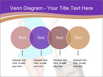 Woman with Travel Bag PowerPoint Template - Slide 32