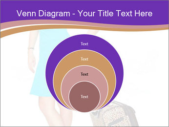 Woman with Travel Bag PowerPoint Templates - Slide 34