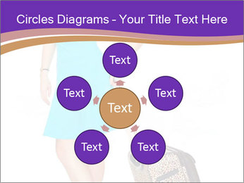 Woman with Travel Bag PowerPoint Templates - Slide 78