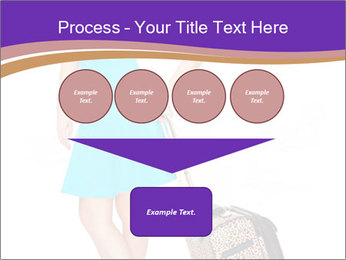 Woman with Travel Bag PowerPoint Template - Slide 93