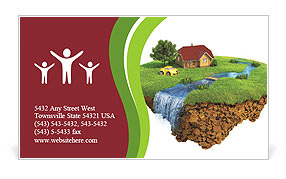 0000063311 Business Card Template