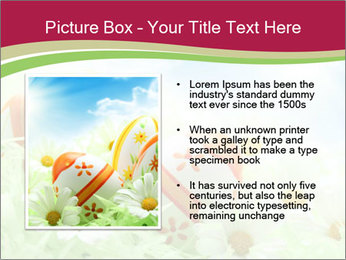Easter Eggs and Camomiles PowerPoint Template - Slide 13