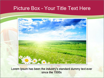 Easter Eggs and Camomiles PowerPoint Template - Slide 15