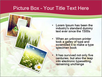 Easter Eggs and Camomiles PowerPoint Templates - Slide 17