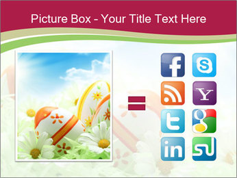 Easter Eggs and Camomiles PowerPoint Template - Slide 21