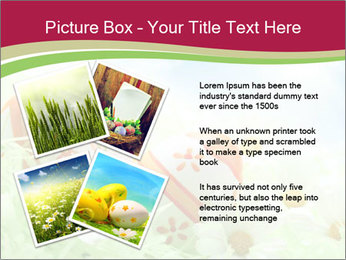 Easter Eggs and Camomiles PowerPoint Template - Slide 23