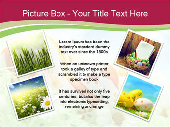 Easter Eggs and Camomiles PowerPoint Template - Slide 24
